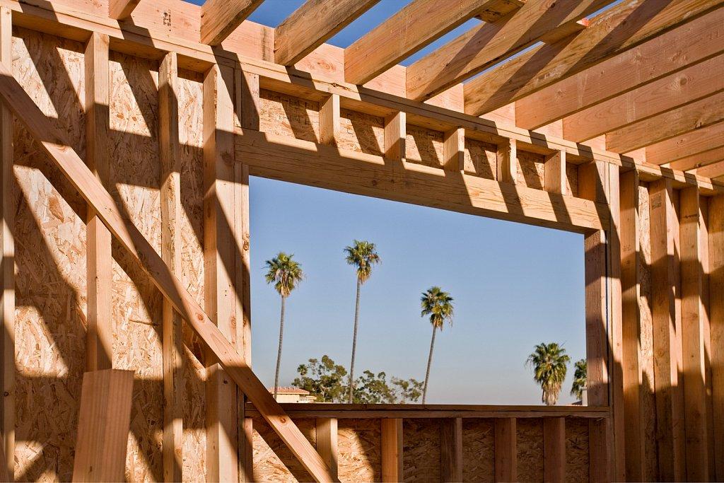 Condominium construction in Los Angeles