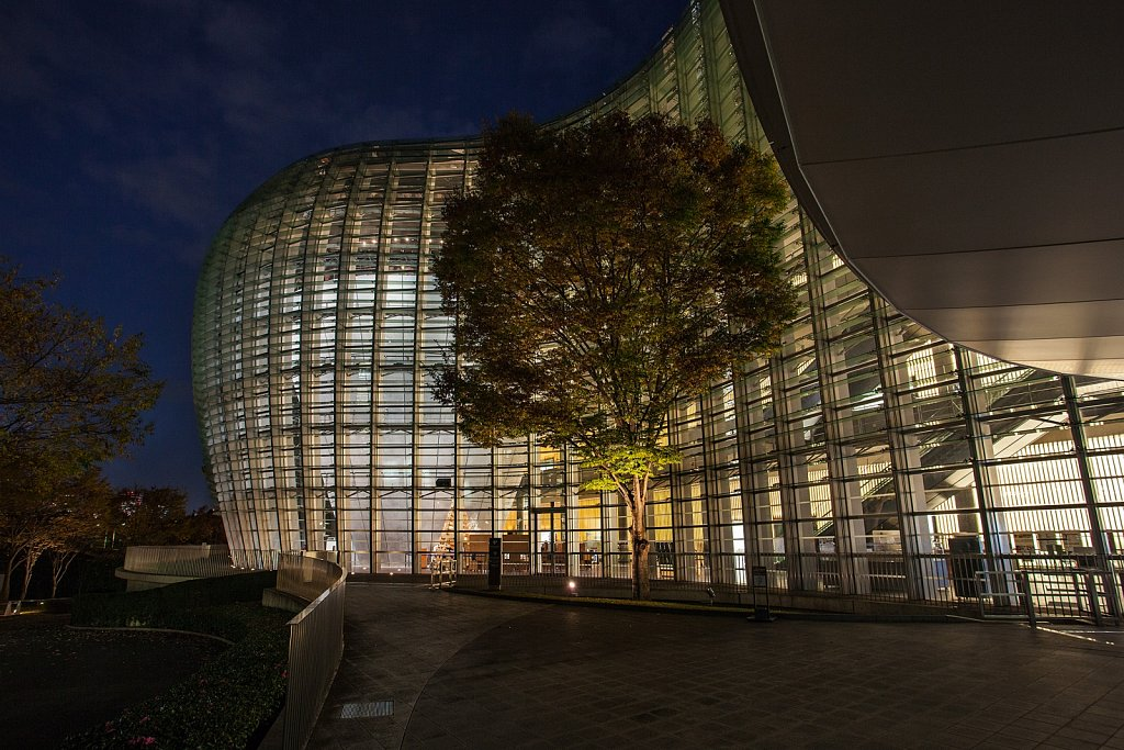 The National Art Center Tokyo exterior in Roppongi, Tokyo, Japan