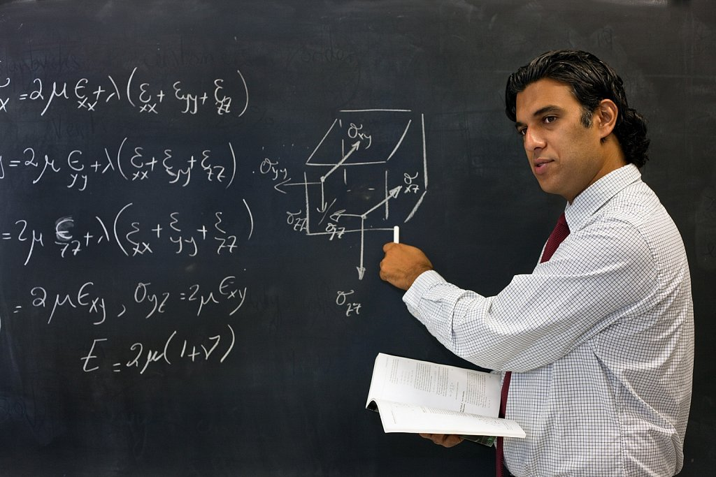 Collage math instructor