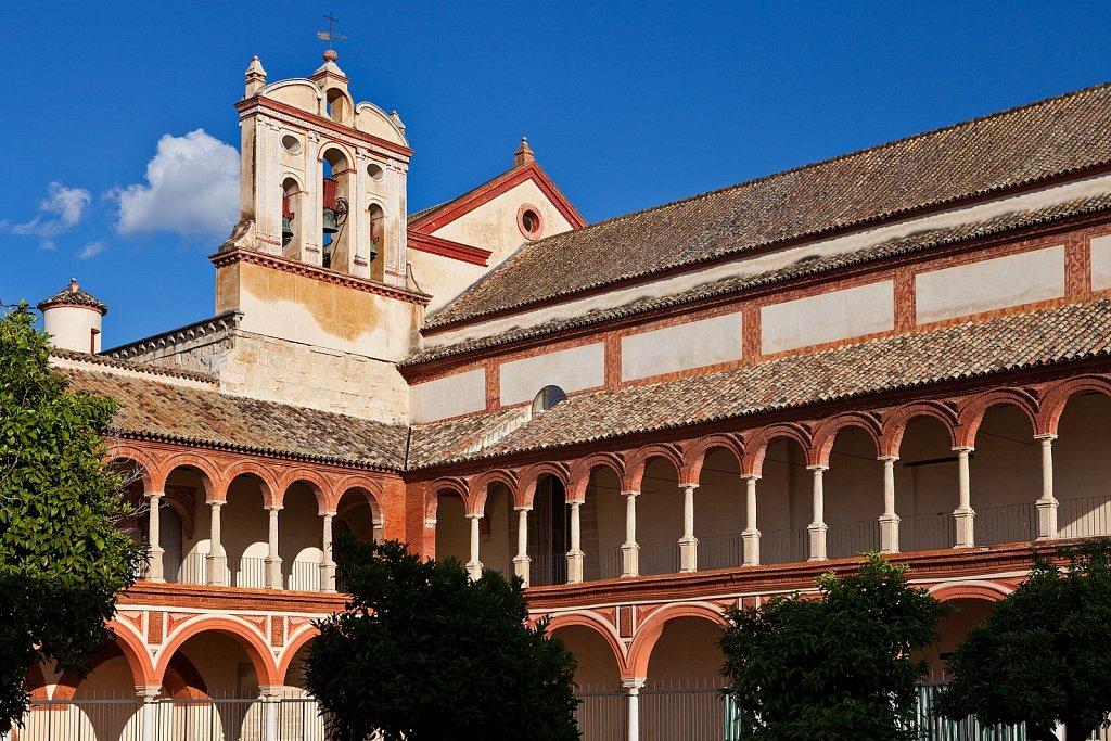 Church and cloister of San Francisco, Old Quarter, Cordoba, Spain