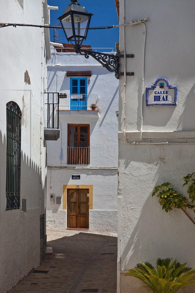 Walkway in Old Quarter, Salobrena, Spain