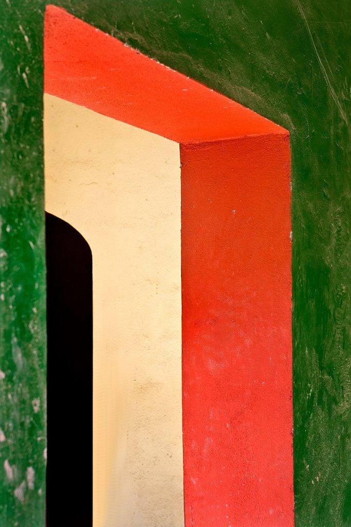 Colorful archway in San Jose del Cabo, Mexico