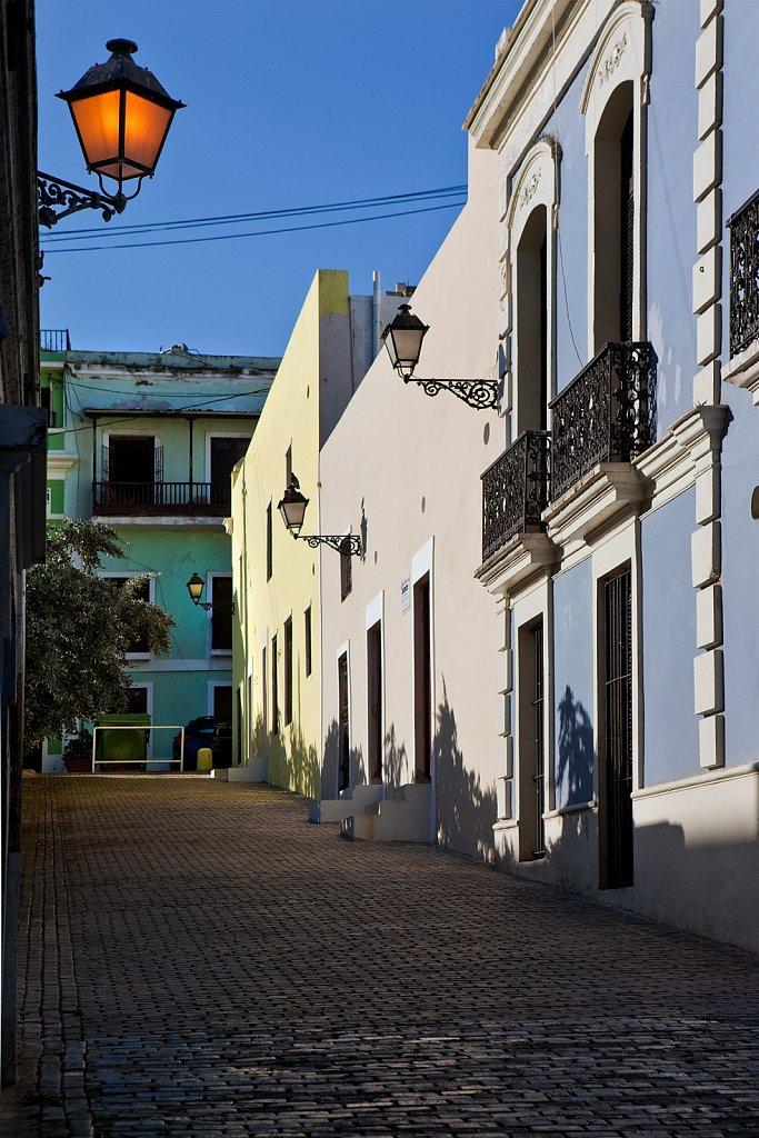 Alley in Old San Juan, Puerto Rico
