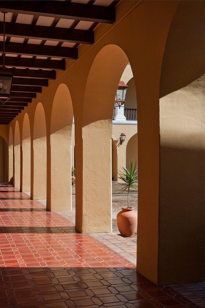 Archways in Old San Juan, Puerto Rico