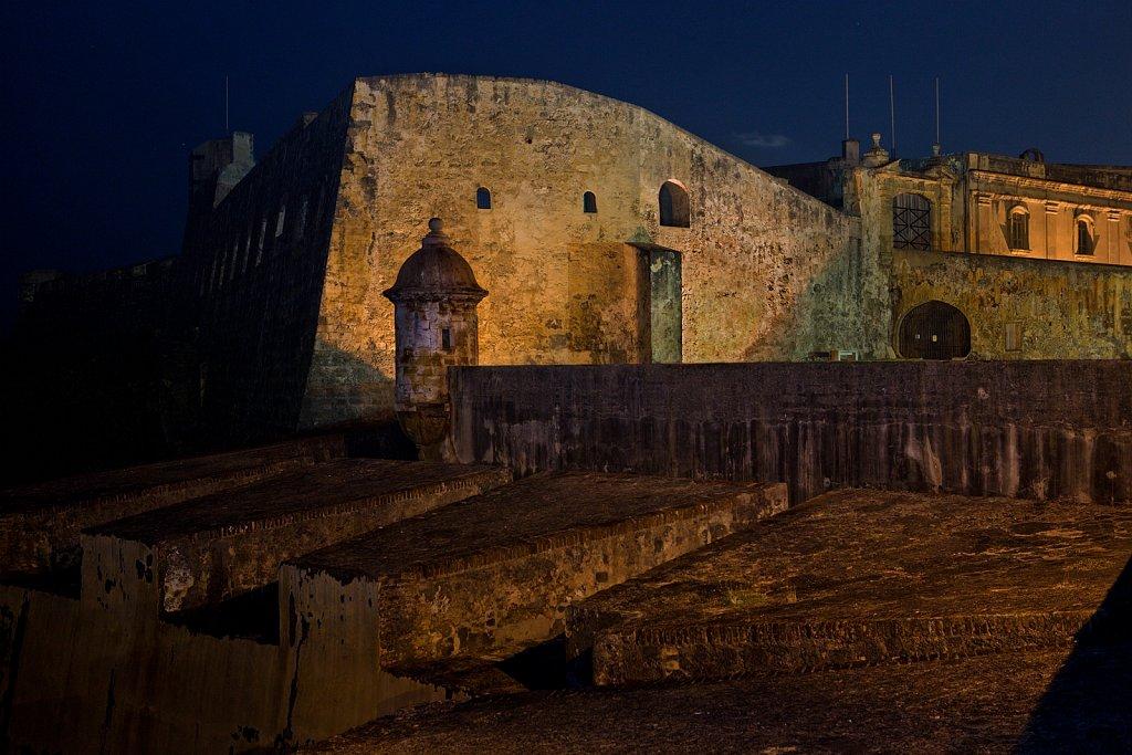 San Cristobal Fort in Old San Juan, Puerto Rico