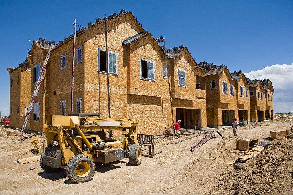 Condo construction site near Denver