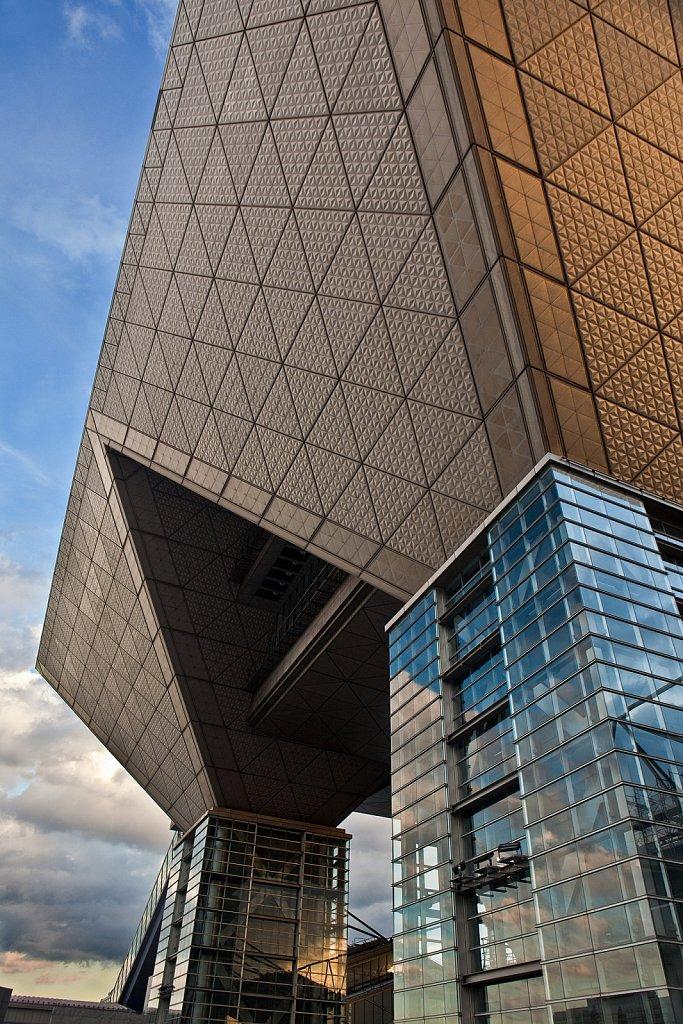 Tokyo Big Sight exhibition hall in Odaiba, Tokyo, Japan
